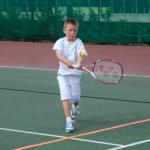 Junior tennis square