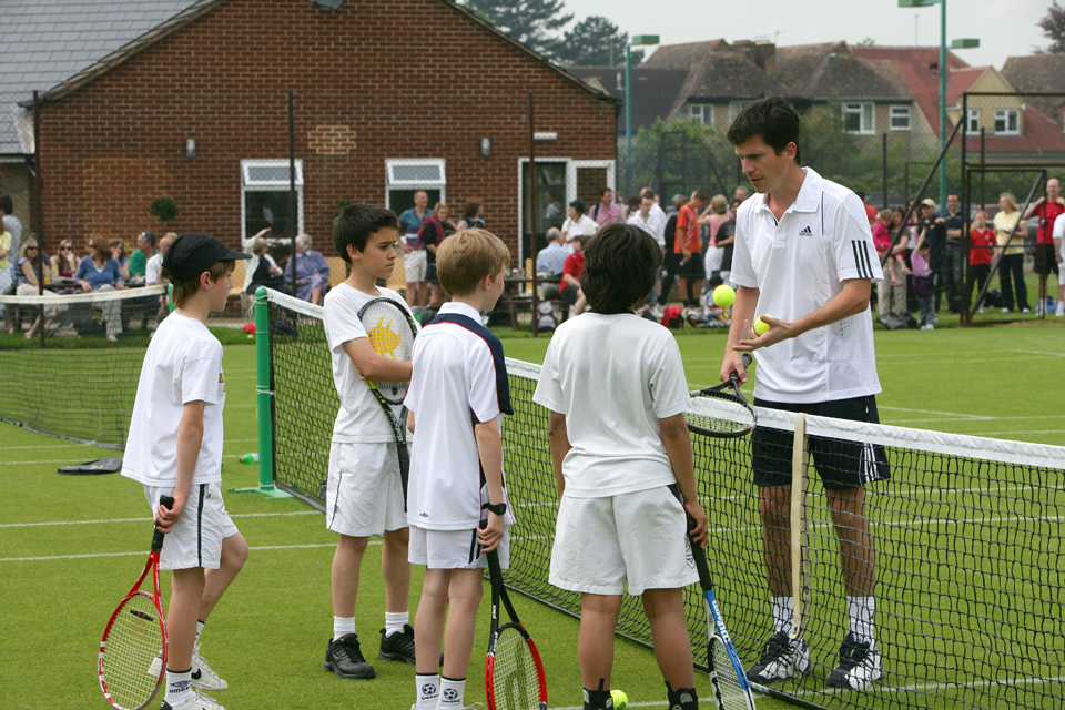 tim henman coaching juniors