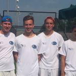 Last weekend's winning Aegon Team Tennis squad